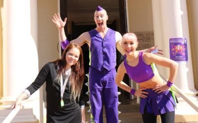 Purple People Show spreads circus joy through regional WA